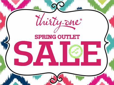 Spring Outlet Sale at Thirty-One Gifts