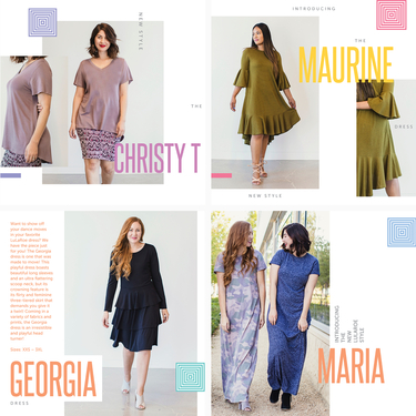 Newest Lularoe Styles Maurine Georgia Maria And Christy Direct Sales Party Plan And Network Marketing Companies Member Article By Lauren Burgess