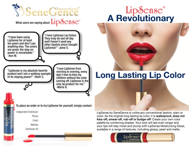 Are you sure you are really putting on your LipSense® Correctly?