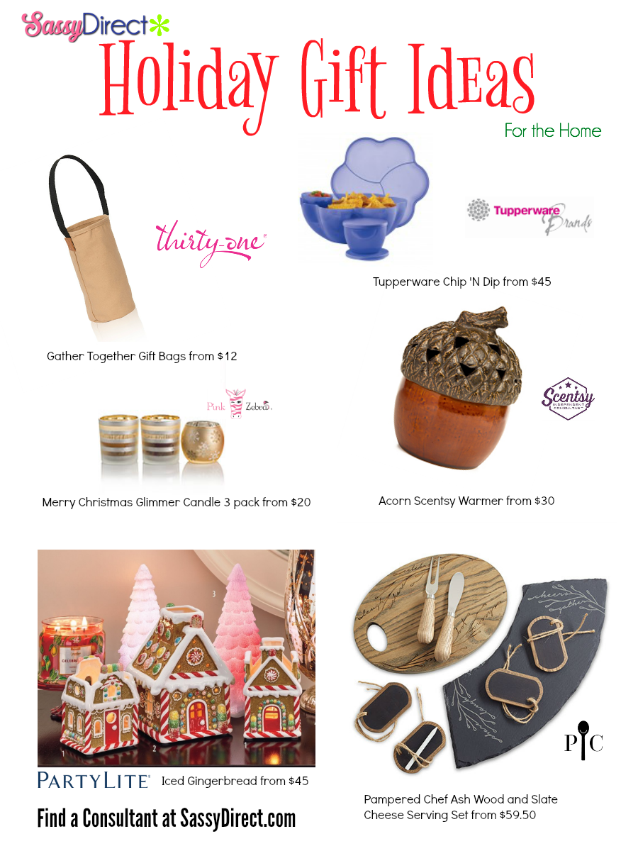 Sassy Direct Gift Guide - For the Home