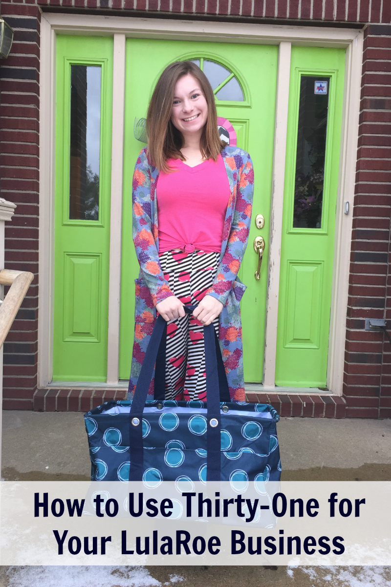 How to Use Thirty-One to Organize Your LulaRoe Business