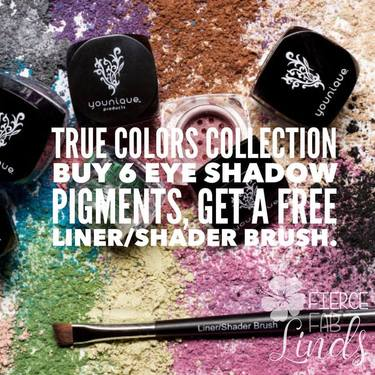 July 2017 Kudos: Mineral Eye Shadow Pigments- True Colors Collection