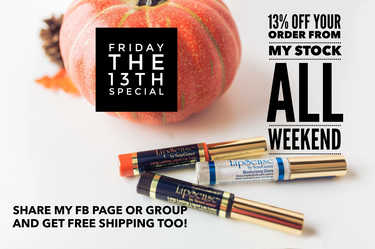 LipSense Sale for in stock items