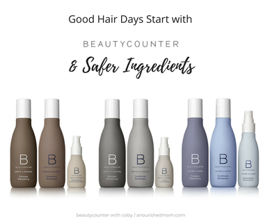 New Product Alert! Beautycounter Hair Care is Here!