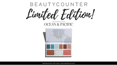 New Product Alert! Introducing Beautycounter's Ocean & Pacific Limited Edition Makeup Palette!