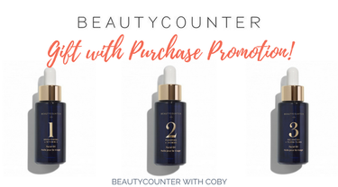 Beautycounter Gift with Purchase Promo! Beautycounter+ Facial Oil with Qualifying Order
