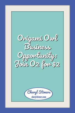 Origami Owl Business Opportunity: Join O2 for $2