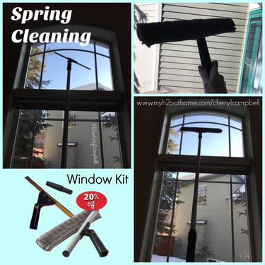 Spring  Cleaning Made Easy with the H2O at Home Window Kit