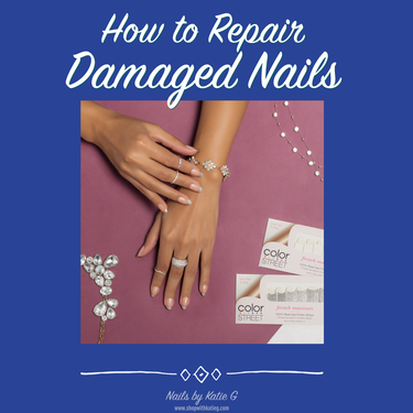 How To Repair Damaged Nails After Acrylics Or Gels