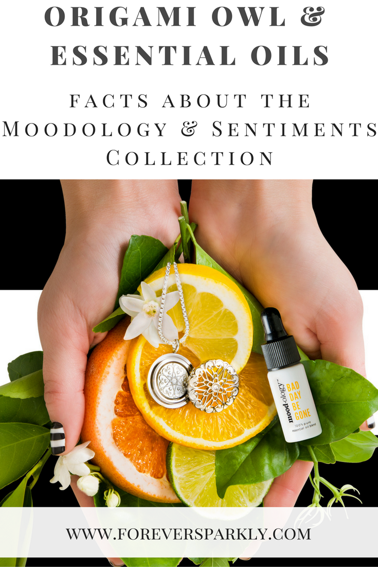 Origami Owl and Essential Oils: Facts about the Moodology & Sentiments Collection