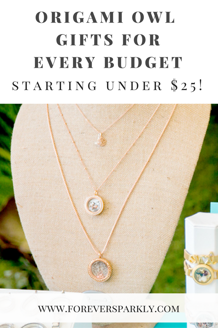 Origami Owl Gifts for Every Budget!