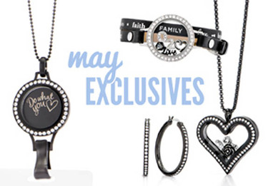 May Exclusives from Origami Owl Shop + Host + Join