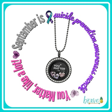 Origami Owl You Matter Like A Lot Force For Good Suicide