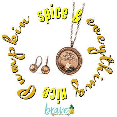 Pumpkin Spice Everything! October Hostess Exclusive From Origami Owl