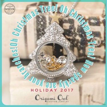 Origami Owl Holiday 2017 Collection Sneak Peek Reveal Day 1