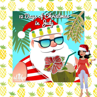 Christmas In July Party Clipart.12 Days Of Christmas In July Party With Origami Owl Direct