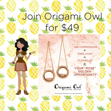 Join Origami Owl In October For 49 Direct Sales And Home Based