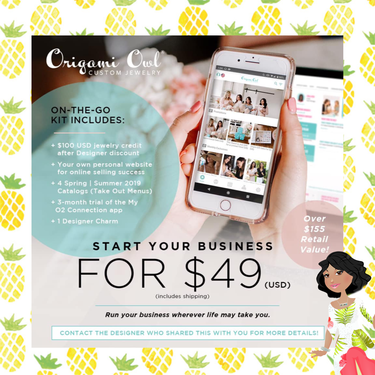Selling Origami Owl | BOTTLESOUP | 375x375