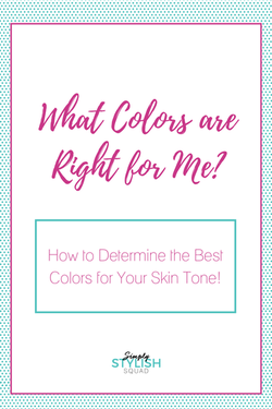 What Colors are Right for Me?