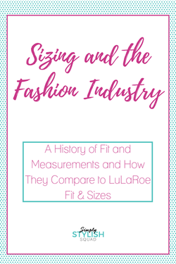 sizing the fashion industry and lularoe direct sales and home