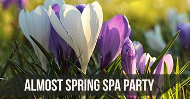 All Most Spring Spa Party