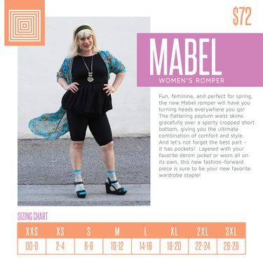 44ba920d0c7f New Style Alert! The LuLaRoe Mabel Romper! - Direct Sales and Home ...