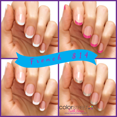 Color Street French Manicure