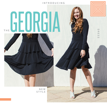 def081b853314 LuLaRoe announces the Georgia Dress! - Direct Sales and Home Based ...