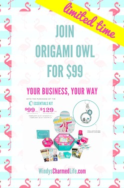 Join Origami Owl for $99