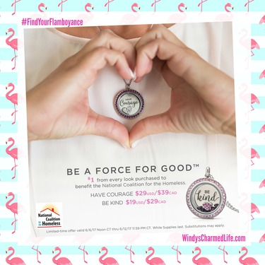 Origami Owl June 2017 Exclusive Locket Looks