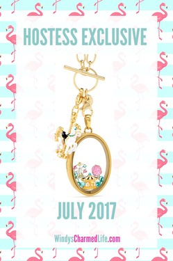 Origami Owl Hostess Exclusive for July 2017