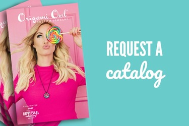 Request an Origami Owl catalog