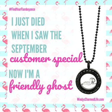 Origami Owl Casper the Friendly Ghost Exclusive Locket Look