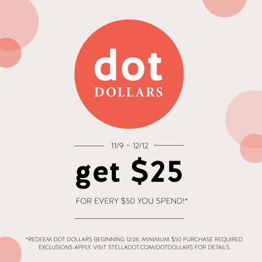 Dot Dollars are coming back soon!